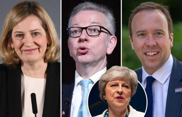 Conservative Party leadership rivals fear Michael Gove, Matt Hancock and Amber Rudd plan to seize No10