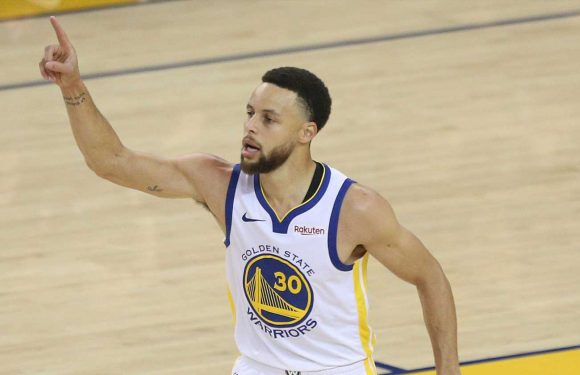 Steph Curry lifts Golden State Warriors to Game 1 win over Portland Trail Blazers