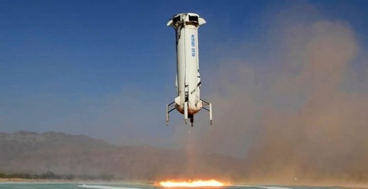 Blue Origin launch LIVE stream: How to watch Jeff Bezos' spacecraft blast off TODAY
