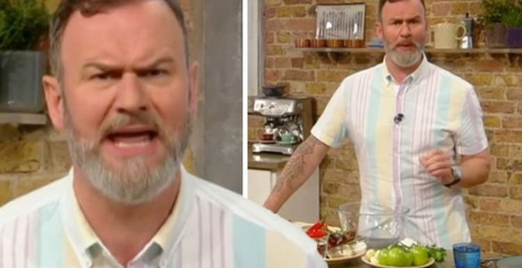 Saturday Kitchen: Viewers distracted by chef Glynn Purnell's bizarre outfit choice
