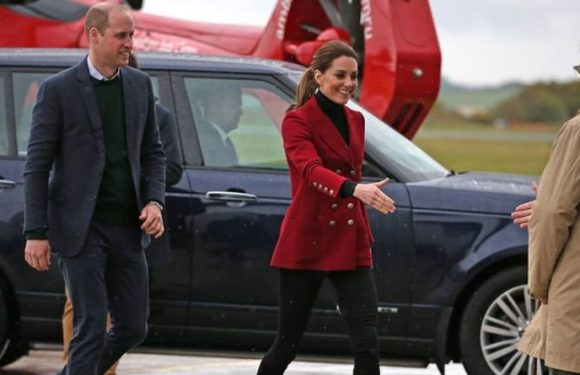 Kate Middleton wows in Wales ahead of Meghan Markle & Prince Harry sharing baby pictures