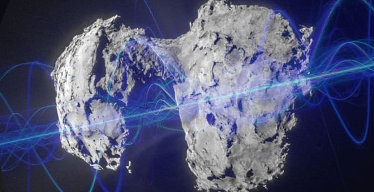 UFO proof? Slowed-down Comet P67 audio is 'ALIEN BROADCAST to solar system'