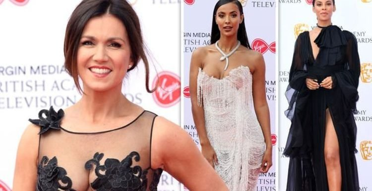 BAFTA TV Awards 2019 sees Susanna Reid and Rochelle Humes stun in see-through looks