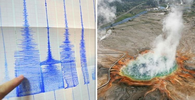 Yellowstone volcano: How HUGE earthquake BROKE seismometer – 'Too much SHAKING!'