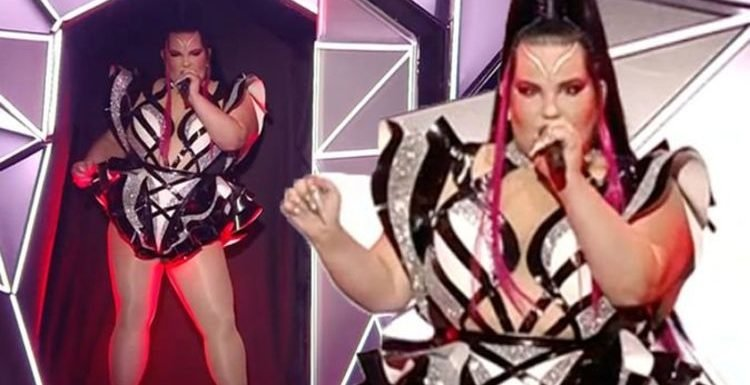 Eurovision 2019: 'OMG this is insane' Viewers DIVIDED as Netta returns with bizarre remix