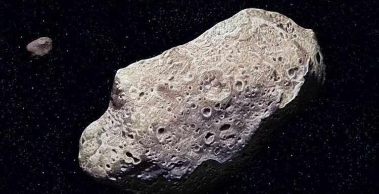 NASA asteroid tracker: A GIANT space rock will fly over Earth TOMORROW at 15,100MPH