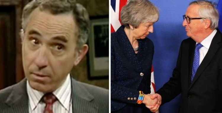 Britain's EU membership brilliantly RIDICULED in hilarious Yes Minister sketch