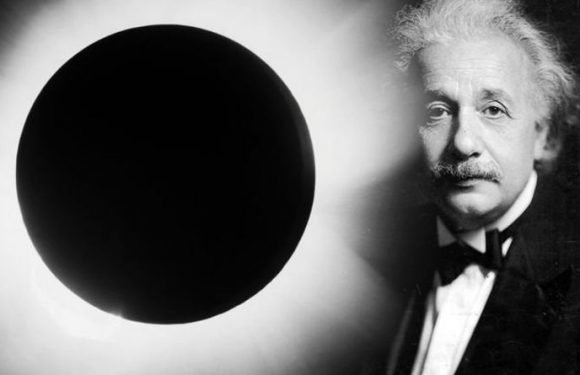 Solar eclipse: The 100 year-old photo PROVING Einstein was RIGHT