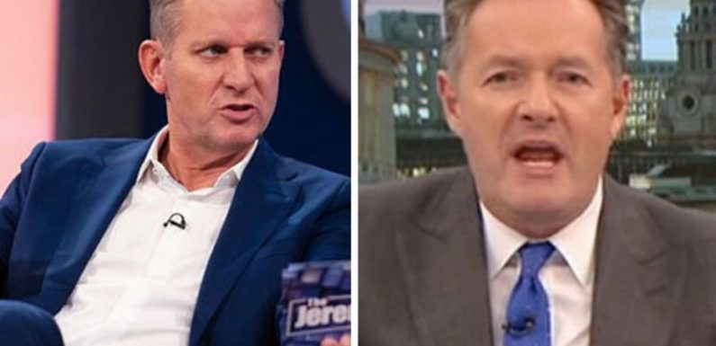 Piers Morgan rushes to DEFEND pal Jeremy Kyle: 'He's an intelligent man'