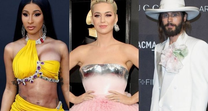 Cardi B Goes Dramatic, Katy Perry Turns Into Chandelier, Jared Leto Gets Creepy at 2019 Met Gala