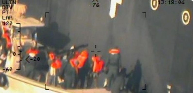 Pentagon reveals pictures it says prove Iran attacked oil tankers in the Gulf