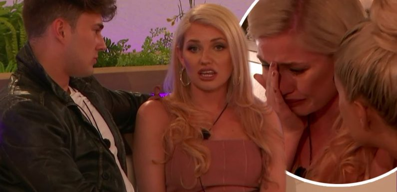 Love Island 2019: Amy Hart reduced to tears after 'half boyfriend' Curtis Pritchard brands her an 'attention seeker'