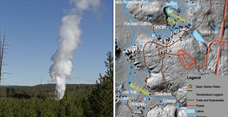 Yellowstone volcano: How Norris Geyser activity forced scientists to take action