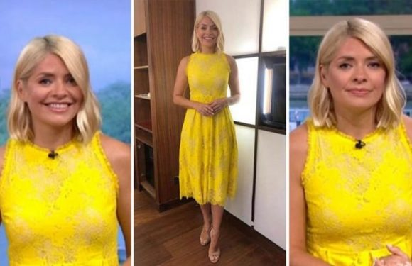 Holly Willoughby stuns on ITV This Morning in designer dress – where to buy her outfit
