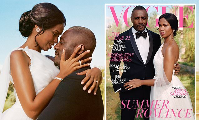 Idris Elba admits he's 'inseparable' from wife Sabrina Dhowre