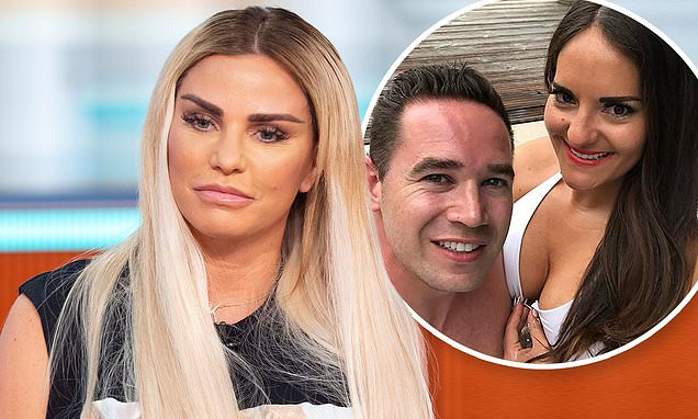 Katie Price 'tells friends that karma will get ex's new girlfriend'