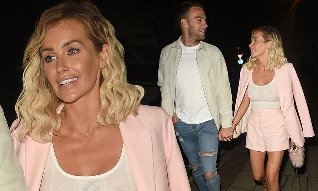 Love Island's Laura Anderson goes braless on date  with Max Morley