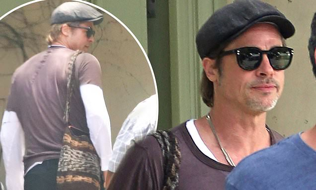 Brad Pitt steps out after issuing ex Angelina Jolie an ultimatum