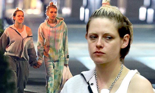 Kristen Stewart walks hand-in-hand with girlfriend Stella Maxwell