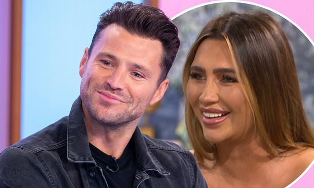 Mark Wright and Lauren Goodger are kept apart backstage at ITV