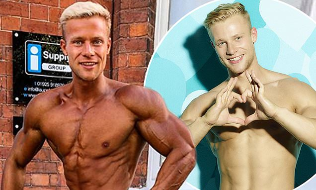 Love Island's Harley Judge showcases his jaw-dropping transformation