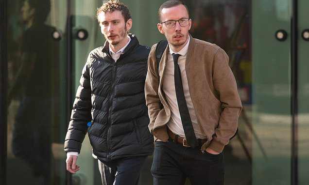Drink-driving brothers caught when police saw them staggering around