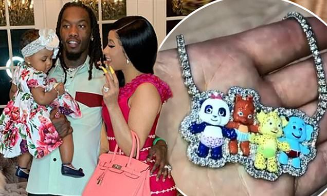 Cardi B and Offset splash out$100,000 on jewellery for baby Kulture