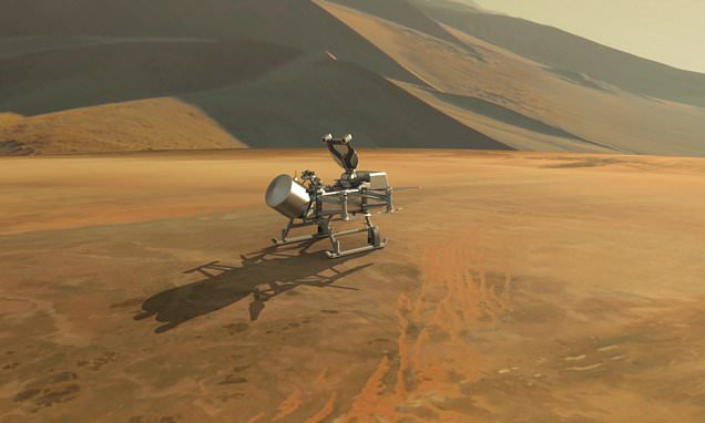 NASA is going to Titan: Space agency reveals Dragonfly mission
