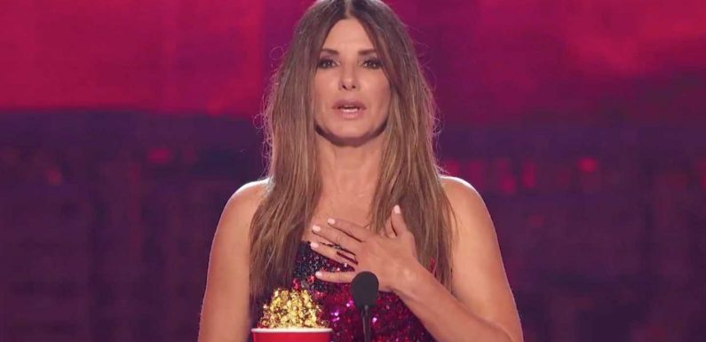 Sandra Bullock Says She Was 'Put On This World To Protect' Her Kids At MTV Movie Awards