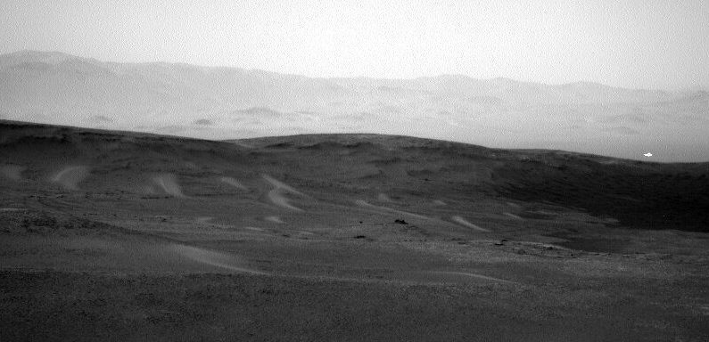 A glint of light and a hint of life: Mars is getting very interesting