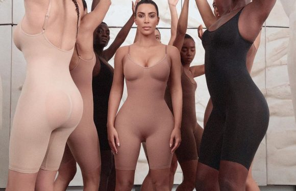 It's Here! Kim Kardashian Gives a First Look at Her New Shapewear and Lingerie Brand Kimono