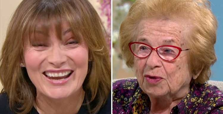 Lorraine viewers in hysterics as sex therapist Dr Ruth candidly discusses orgasms on breakfast show