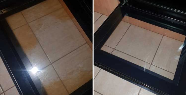 Mum uses £1.33 two-ingredient mix of lemon and bi-carb soda to get her filthy oven door sparkling in minutes – The Sun