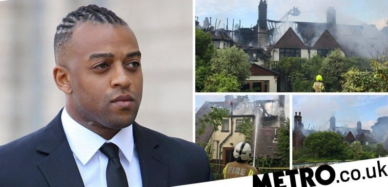 Oritse Williams house fire being treated as 'suspicious', police confirm