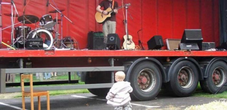 Ed Sheeran Shares Throwback Picture of Early Performance: My Dad 'Unearthed a Load of Photos'