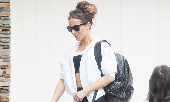 Kate Beckinsale Reveals Fit Figure At 45 In Sports Bra & Sheer Leggings In LA – See Pics