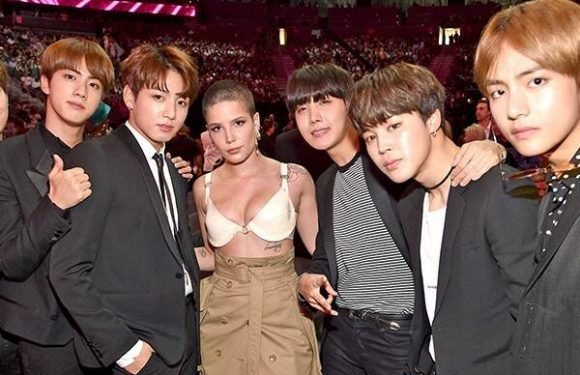We Can't Stop Watching Halsey and BTS' Epic Dance Party