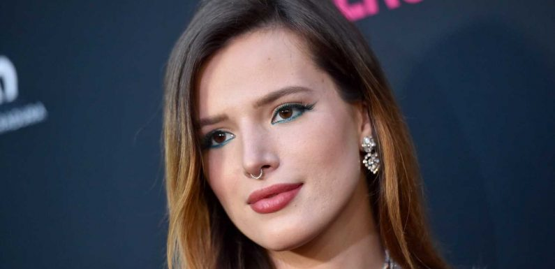 Bella Thorne taught herself to read using scripts and count using cash