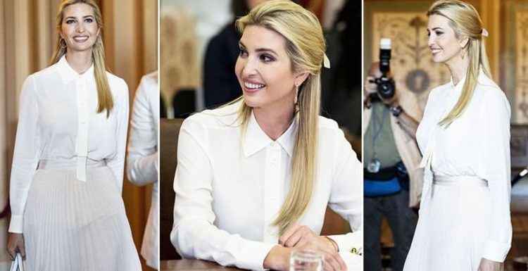 Ivanka Trump: Donald's daughter wears revealing sheer outfit for Washington meeting