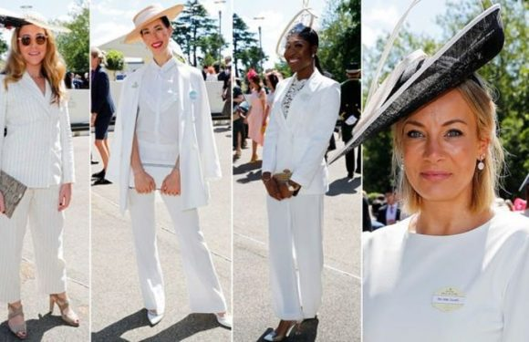 Royal Ascot 2019: Day five racegoers enjoy the sun as they ditch the dresses for suits