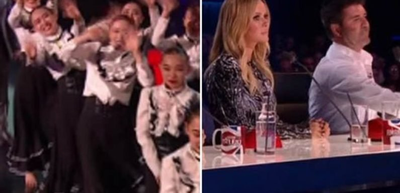 BGT viewers stunned as Fabulous Sisters 'give the finger' after savage Simon Cowell insult