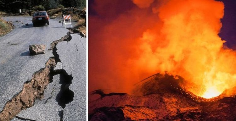 US volcano alert: Eight now being monitored after California earthquakes