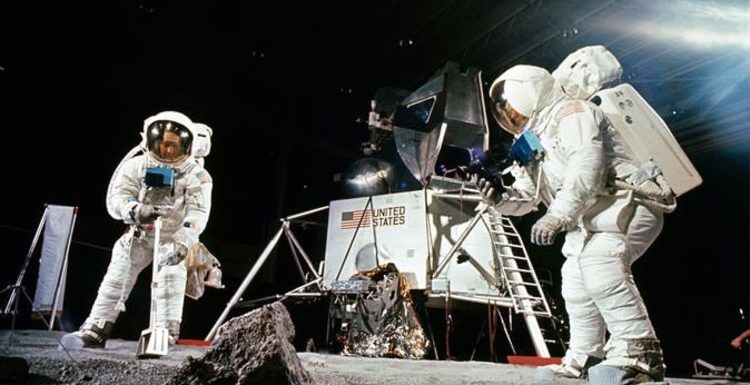 Moon landing: Staged Apollo 11 photos reveal behind-the-scenes of Moon landing training