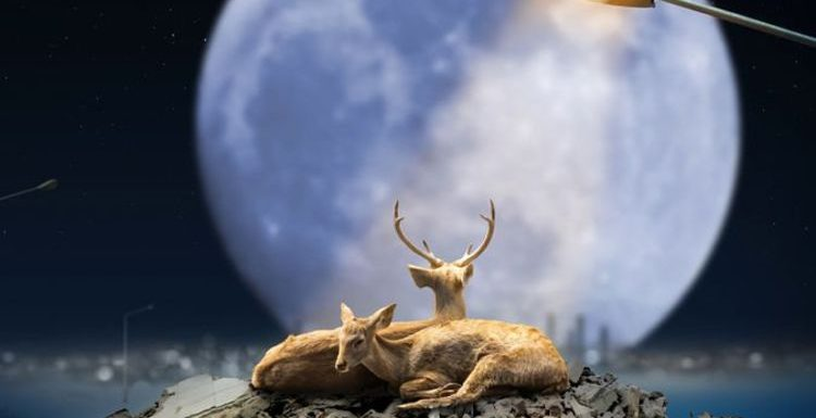 July Buck Moon: The first Full Moon of the Summer peaks TOMORROW – Don't miss it