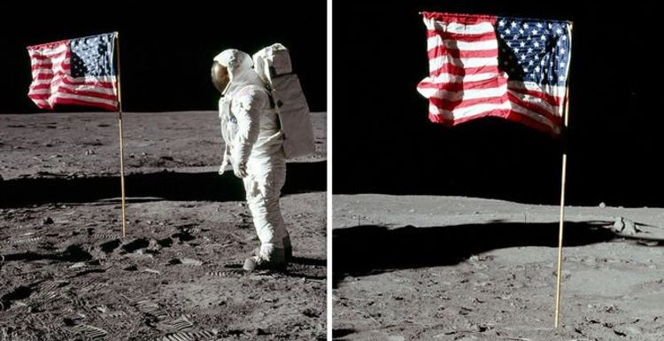 Moon landing hoax: Why was US flag 'flapping' on Moon? Shock conspiracy