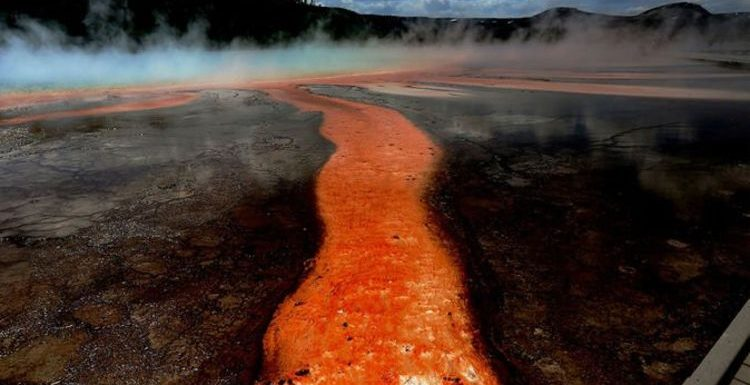 Yellowstone volcano: How supervolcano was discovered 'leaking' by USGS