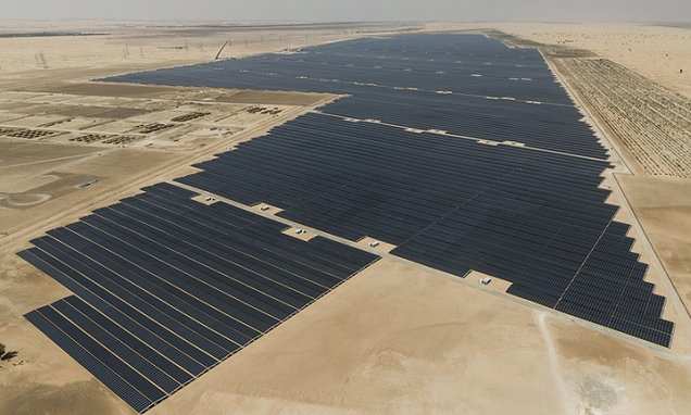 Abu Dhabi turns on the 'world's biggest' single site solar plant