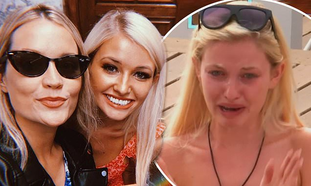 Love Island's Amy Hart is seen for the first time since quitting show