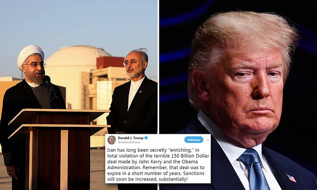 Trump turns up the heat on Iran with threat of more sanctions