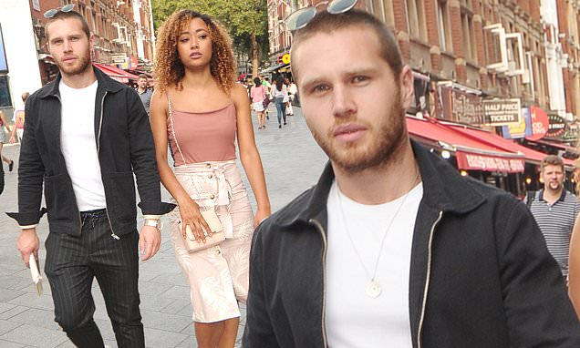 EastEnders' Danny Walters spotted on night out with mystery woman